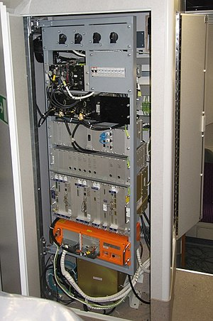 Train event recorder - Juridical Recording (orange) Blackbox as part of an ETCS equipment