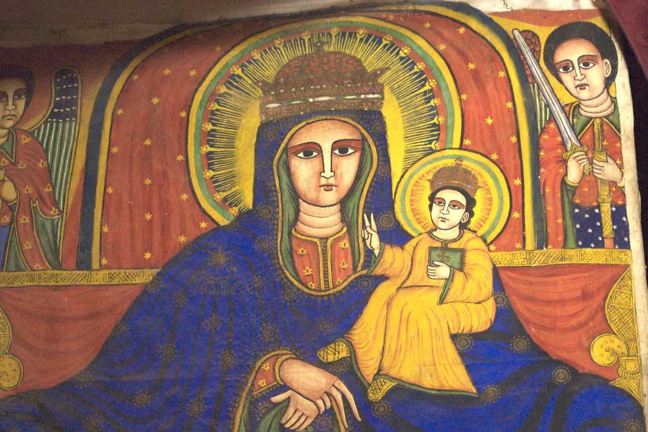 Ethiopian virgin mary pictures