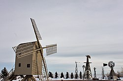 Windmill Museum in Etzikom