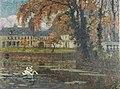 Eugène Chigot (1860-1923), 'L'étang en automne devant le château' c 1903.jpg