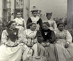 Eulalia Abaitua Allende-Salazar - A group taken in Spain