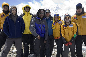 Everest Peace Project - The team