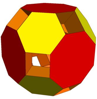 Truncated cuboctahedron - Image: Excavated truncated cuboctahedron