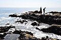 Exploring the tidepools. West Coast Trail, Vancouver Island, BC, Canada (6404631005).jpg