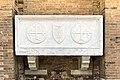 Exterior of Santi Giovanni e Paolo (Venice) - Tomb of Daniele and Pietro Bon - 1476.jpg