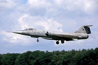 Aeritalia F-104S Starfighter - F-104S ASA in low-visibility colour scheme