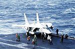 F-14A of VF-211 on USS Constellation (CV-64) c1978.jpg