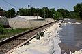 FEMA - 35686 - Railroad tracks on top of a levee in Iowa.jpg