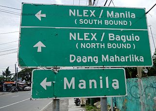 Road signs in the Philippines Wikimedia list article