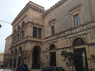 Timeline of Syracuse, Sicily - Image: Facciata da via del Teatro