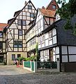 Fachwerkhäuser in Altstadt Qudlinburg. IMG 3804WI.jpg