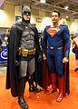 Fan Expo 2015 - Batman & Superman (21777590491).jpg