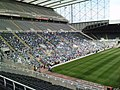 Fans tribute to Sir Bobby Robson at St. James Park. - geograph.org.uk - 1567644.jpg