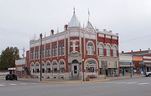Council Grove, Kansas - Historic Farmers and Drovers Bank building