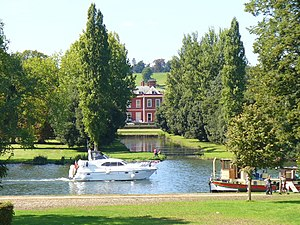 Remenham - Fawley Court from Remenham