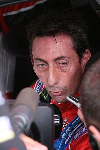 Federico Villagra - Villagra at the 2008 Rally of New Zealand.