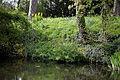 Feeringbury Manor garden pondside, Feering Essex England.jpg