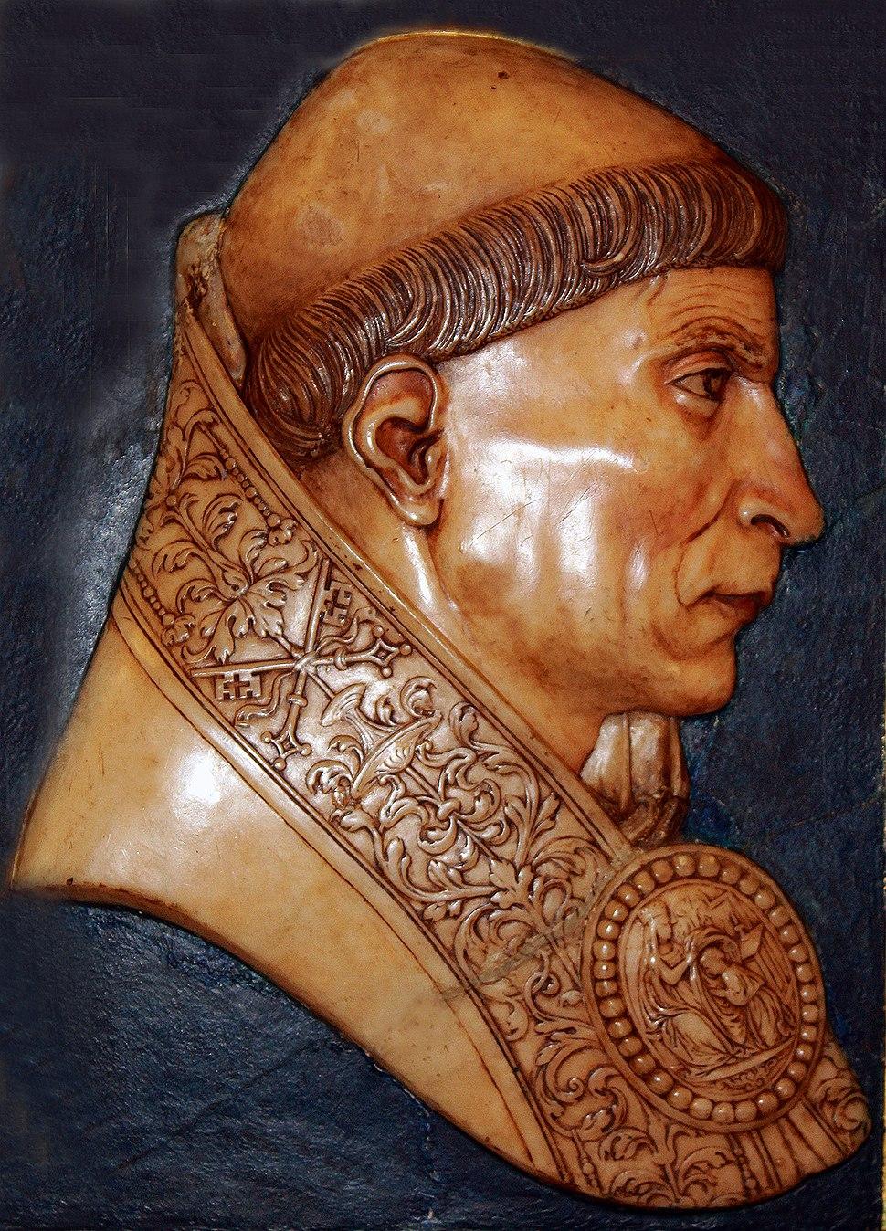 Felipe Bigarny (1502-1518) Cardenal Cisneros, relieve