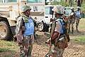 Female combat troops of South African Contingent in MONUSCO on robust foot and moblile patrols 10.jpg