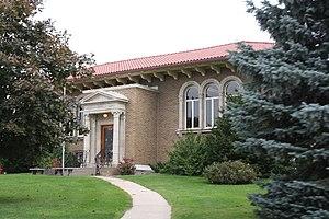 Fennimore, Wisconsin - Image: Fennimore Wisconsin Public Libarary US18US61