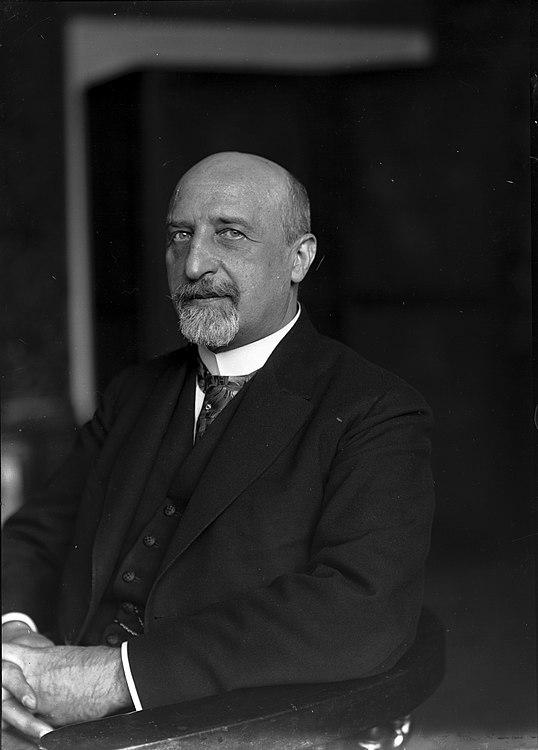 Ferdinand Schmutzer - Karl Seitz, 1925