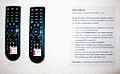 Fernbedienung und Anleitung für VIDEOPAINTINGS von Helmut Hennig, Interaktives Videofries, 2012, Kunstprojekt in Kooperation mit kik.kunst in kontakt, auf der Art (F)Air 2012.jpg