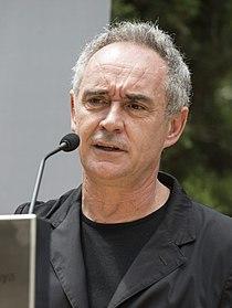 Ferran Adrià en la presentación de 'Un proyecte per compartir'.jpg