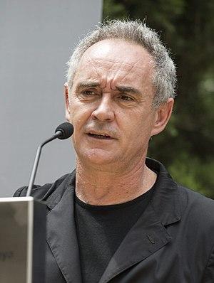 Ferran Adrià - Image: Ferran Adrià en la presentación de 'Un proyecte per compartir'