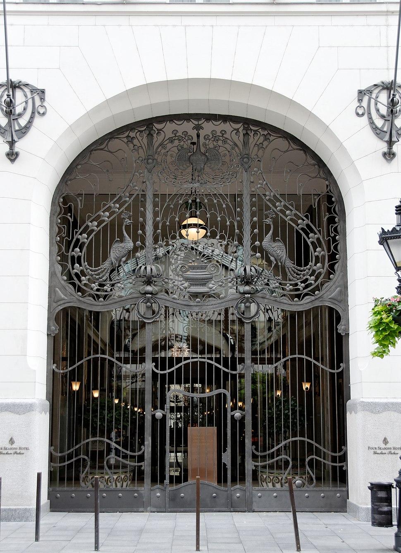 Ferronneries palais Gresham Budapest