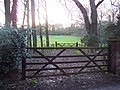 Field gates near the entrance to Eastbury House - geograph.org.uk - 357268.jpg
