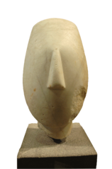 Head of woman-Ma 2709