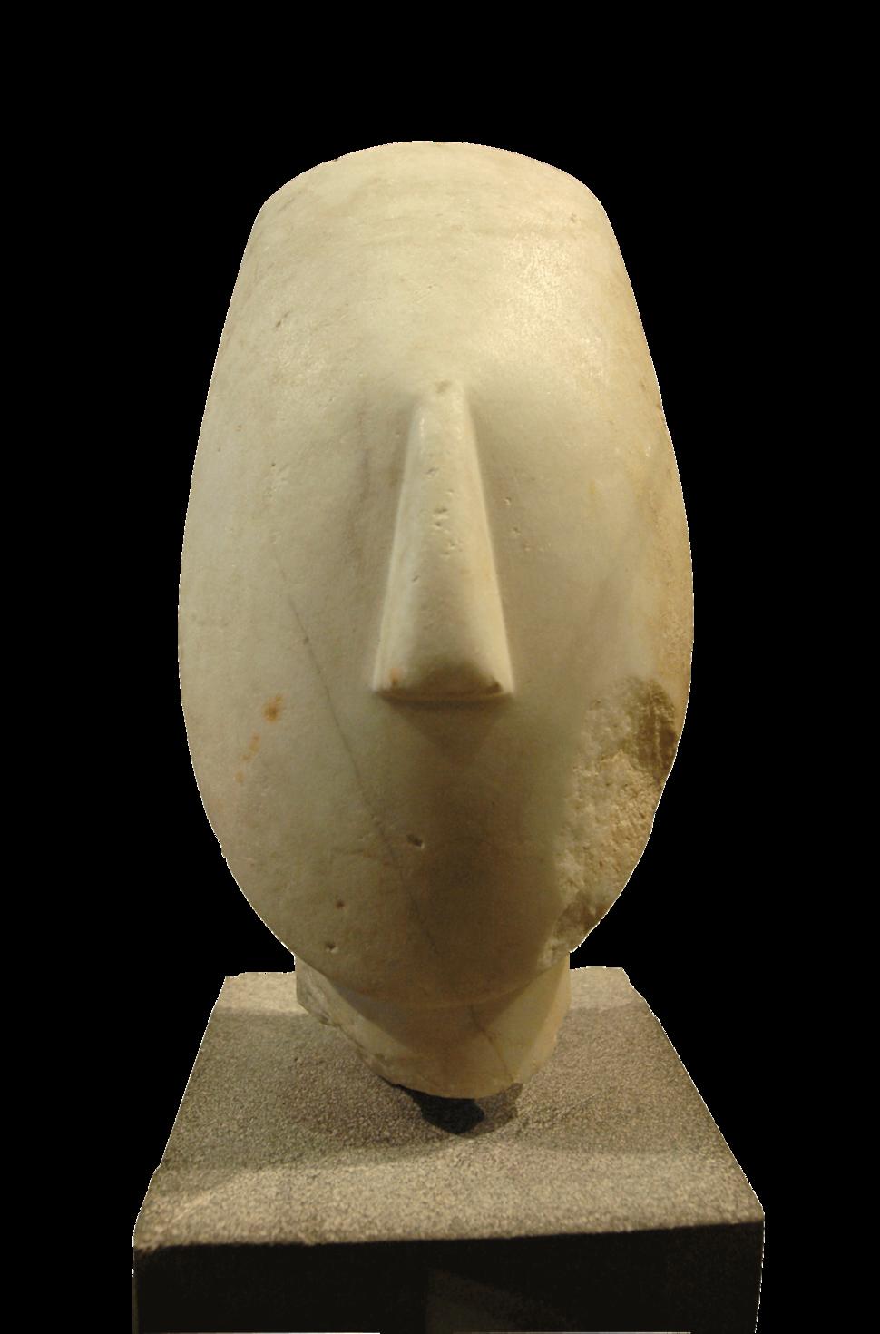 Figure cycladique Louvre Ma2709