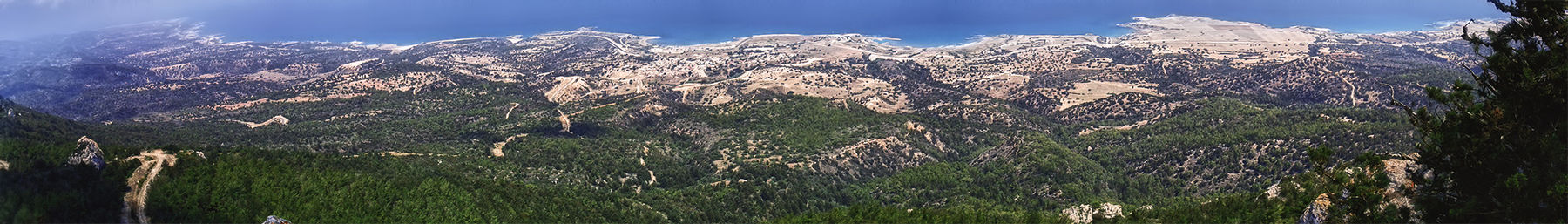 FileNorthern Cyprus banner Panorama of northern coast.jpg
