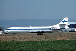 Sud Aviation Caravelle der Finnair