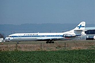Finnair - Finnair Sud SE-210 Caravelle 10B3 Super B in 1976