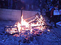 Fire, Student Protest, 09-12-10, Westminster.jpg