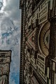 Firenze - Florence - Piazza del Duomo - View Up along the outside surface of the Duomo.jpg