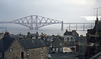 Firth of Forth - The Forth Bridge (photograph 1972)
