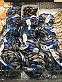 Fiskebryggen, Mathallen, Fishmarket, Bergen, Norway 2018-03-18. Mytilus edulis (blåskjell), etc. displayed for sale at Fjellskål sea food store.jpg