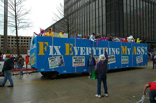 Fix Everything My Ass float Baton Rouge