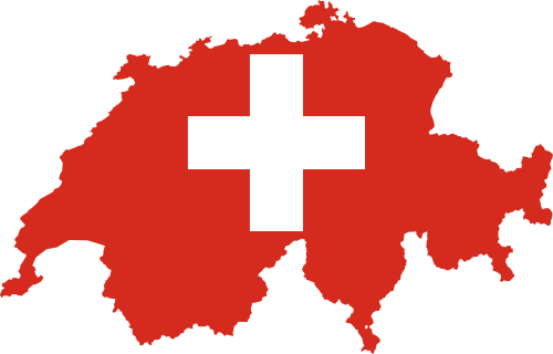 Flag-map of Switzerland.svg