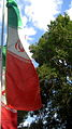 Flag of Iran in the Nishapur Railway Station square 27.JPG