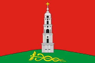 Lezhnevsky District - Image: Flag of Lezhnevsky rayon (Ivanovo oblast)