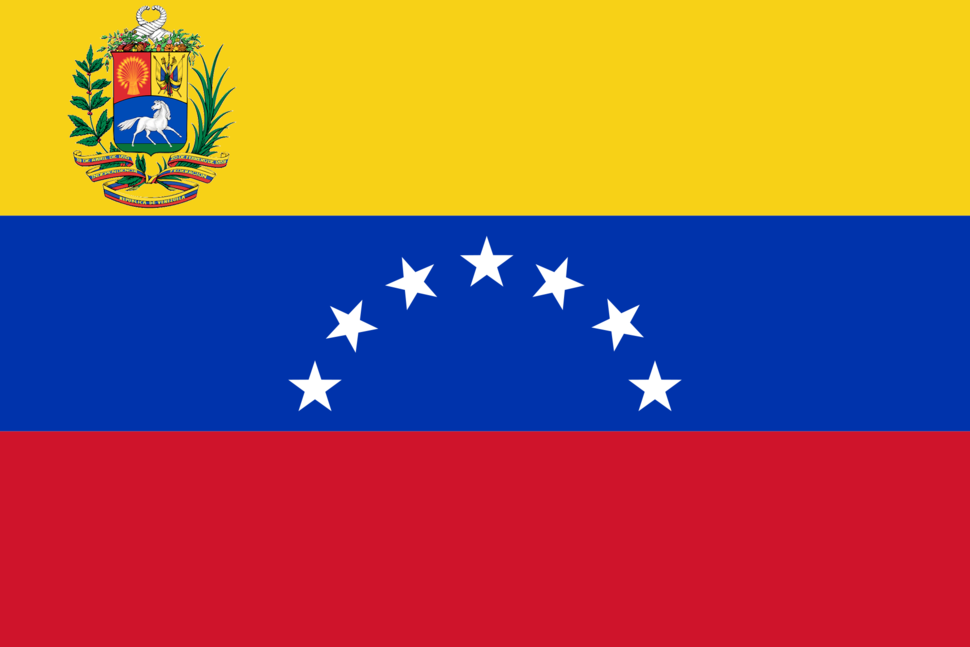 Flag of Venezuela (1954–2006)