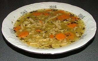 Tripe soups - Polish flaczki or flaki