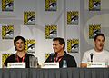Flickr - vagueonthehow - Ian Somerhalder, Kevin Williamson ^ Michael Trevino (3).jpg