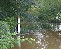 Flood gauge by Riverside Inn - geograph.org.uk - 507326.jpg