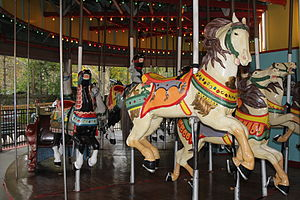 Flushing Meadows Carousel - Image: Flushing Meadows Carousel 02