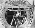 Flying flea single seater monoplane in the 24 foot wind tunnel at the Royal Aircraft Establishment RAE-O992.jpg