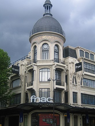 Fnac - 26-30 Avenue des Ternes, 17th arrondissement of Paris, France.
